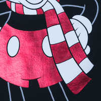 Image of Mickey Mouse Holiday Top for Women # 4