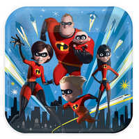 Image of Incredibles 2 Lunch Plates # 1