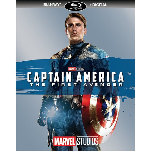 Captain America The First Avenger Blu Ray Digital Copy