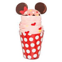Image of Minnie Mouse Cupcake Socks for Adults # 1