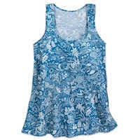 Image of Aulani, A Disney Resort & Spa Aloha Tank Top for Women by Tori Richard # 1