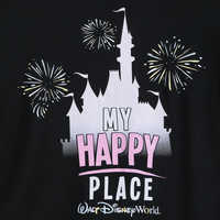 Image of Cinderella Castle ''My Happy Place'' T-Shirt for Kids - Walt Disney World # 2