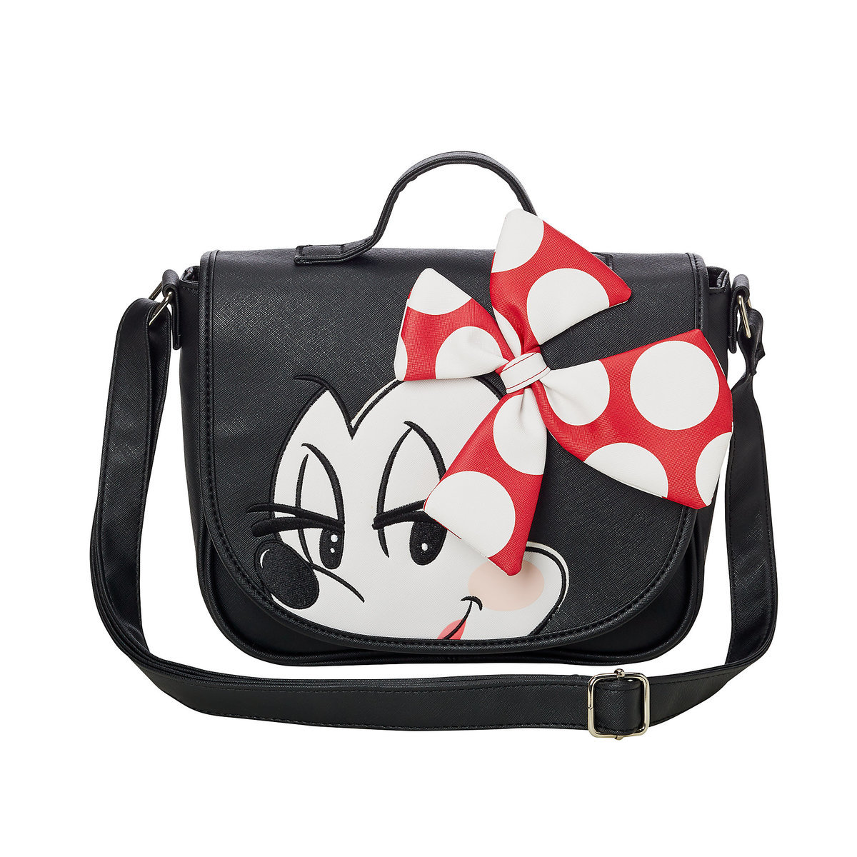 3eed8f2b09c Product Image of Minnie Mouse Crossbody Bag by Loungefly   1
