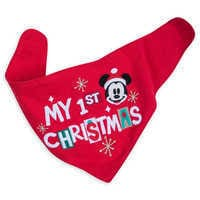 Image of Santa Mickey Mouse First Christmas Gift Set for Baby # 4
