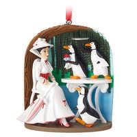 Image of Mary Poppins Jolly Holiday Sketchbook Ornament # 1