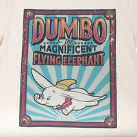 Image of Dumbo Ringer T-Shirt for Adults by Cakeworthy # 3