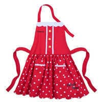 Image of Minnie Mouse Signature Apron for Adults - Personalizable # 1