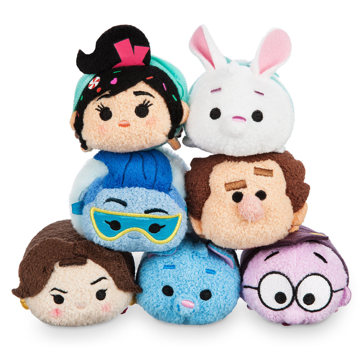 Photo des sept Tsum Tsum Ralph 2.0.