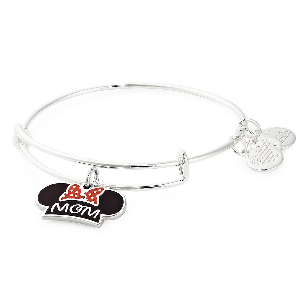 379e07ddafbe85 Product Image of Minnie Mouse Ear Hat ''Mom'' Bangle by Alex and