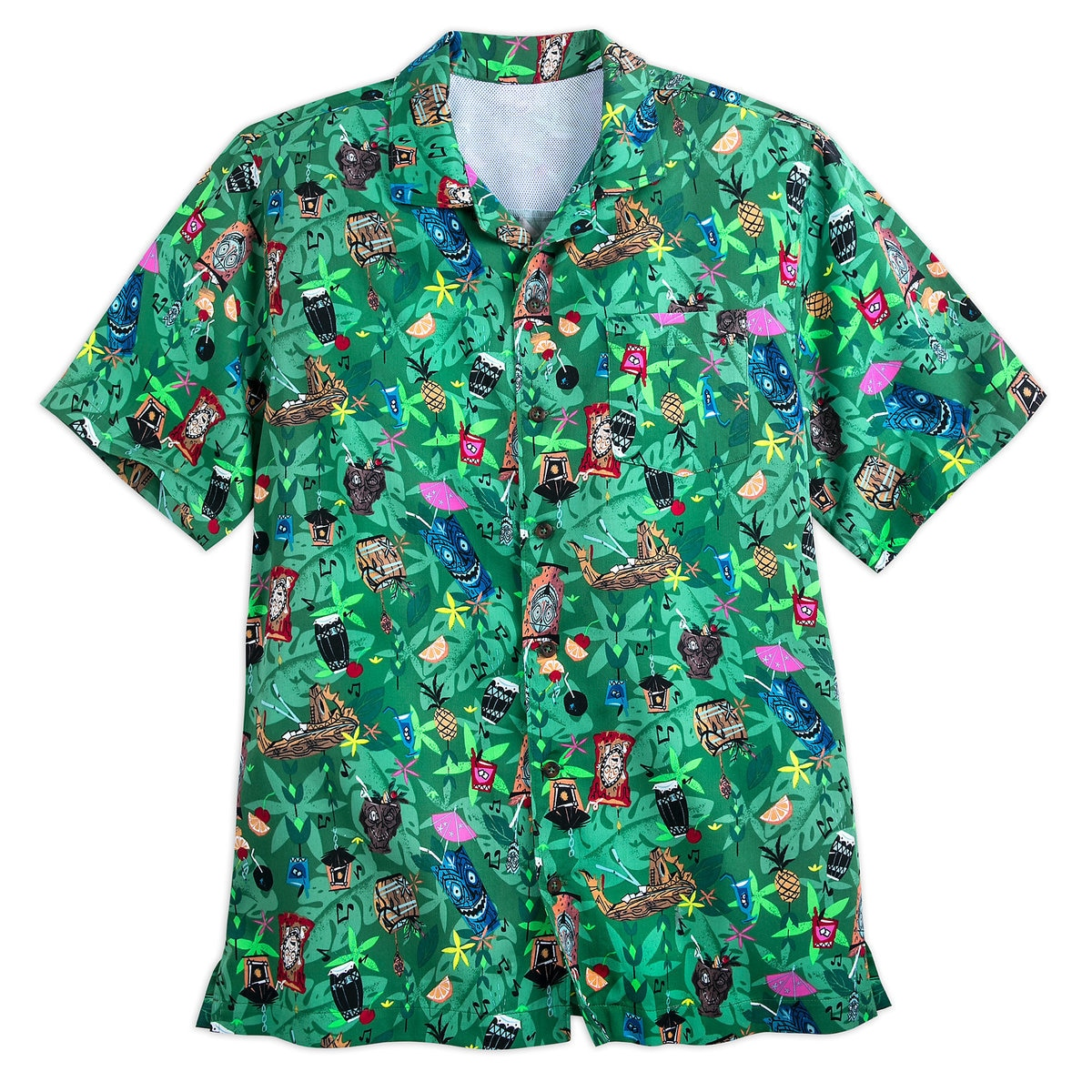 a0d41f57d Product Image of Disney's Polynesian Resort Aloha Shirt for Men # 1