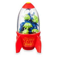 Image of Space Alien Claw Eraser Set - Toy Story # 1