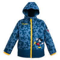 Image of Mickey Mouse Puffy Jacket for Kids - Personalizable # 1