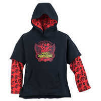 Image of Mickey Mouse Rock 'n Roller Coaster Double-Up Pullover Hoodie for Boys # 1