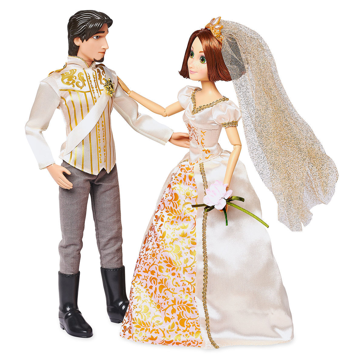 03a94413a254c Product Image of Rapunzel and Eugene Classic Wedding Doll Set - Tangled Ever  After   1