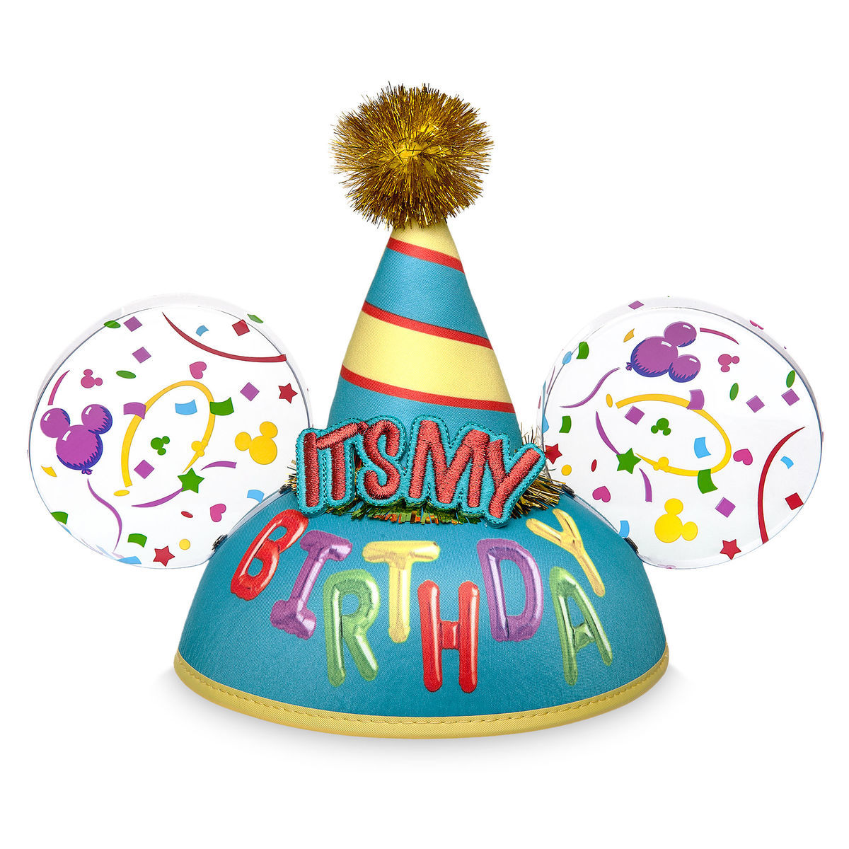 Product Image Of Its My Birthday Ear Hat For Adults 1