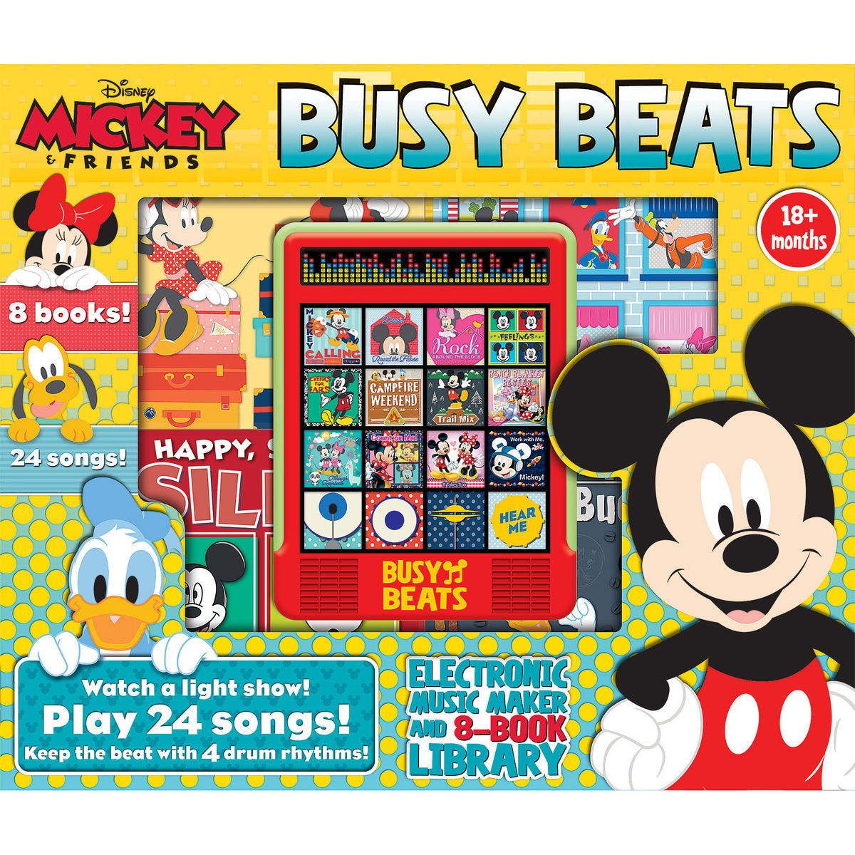 Product Image of Mickey Mouse and Friends Busy Beats # 1