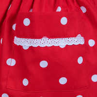 Image of Minnie Mouse Signature Apron for Adults - Personalizable # 5