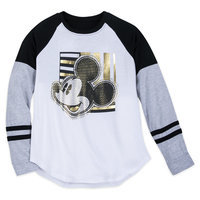 Mickey Mouse Crosshatch T-Shirt for Women