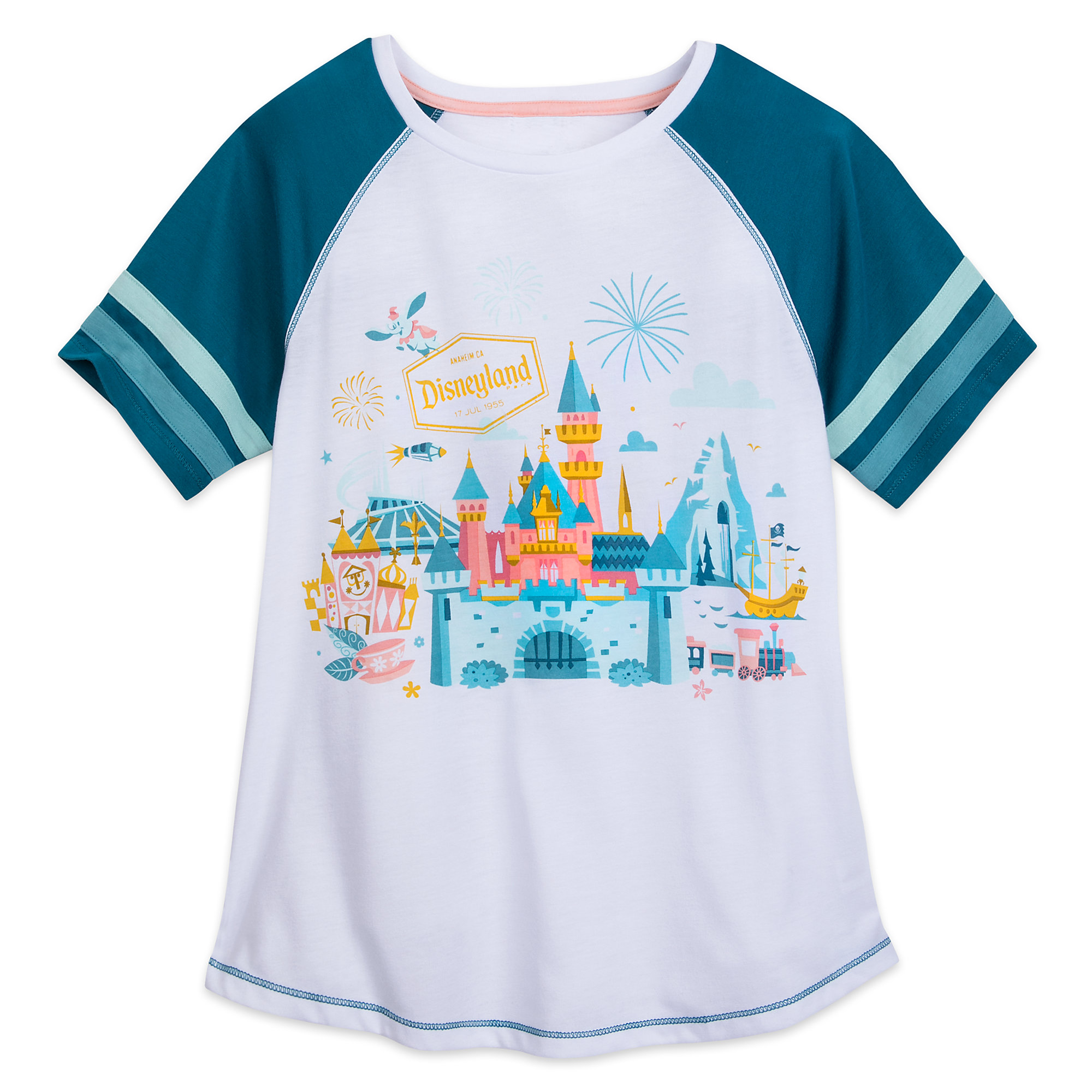 Disneyland Raglan T-Shirt for Women