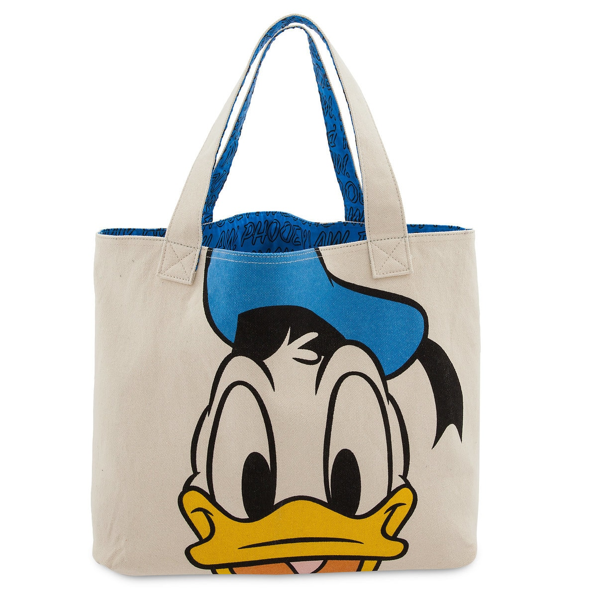 707af43921b Product Image of Donald Duck Canvas Tote Bag   1