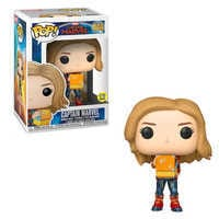 Image of Marvel's Captain Marvel Pop! Vinyl Bobble-Head Figure by Funko # 1