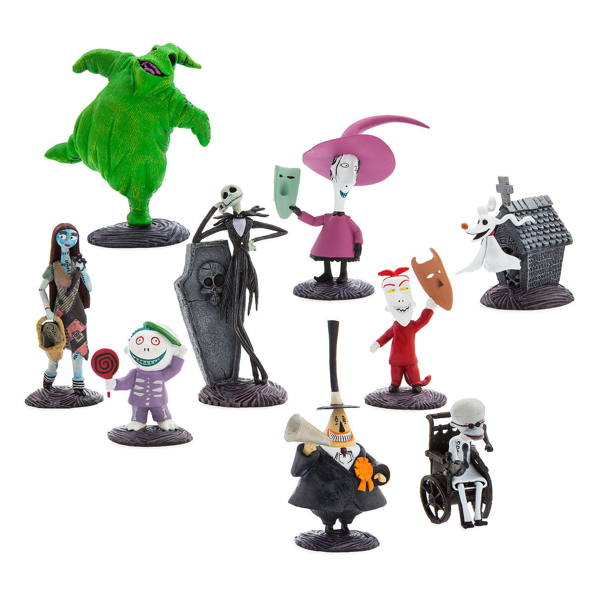 Tim Burton\'s The Nightmare Before Christmas Deluxe Figure Playset ...