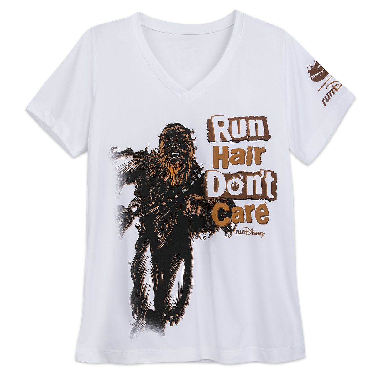 4ac7f726f Product Image of Chewbacca runDisney T-Shirt for Women - Star Wars # 1
