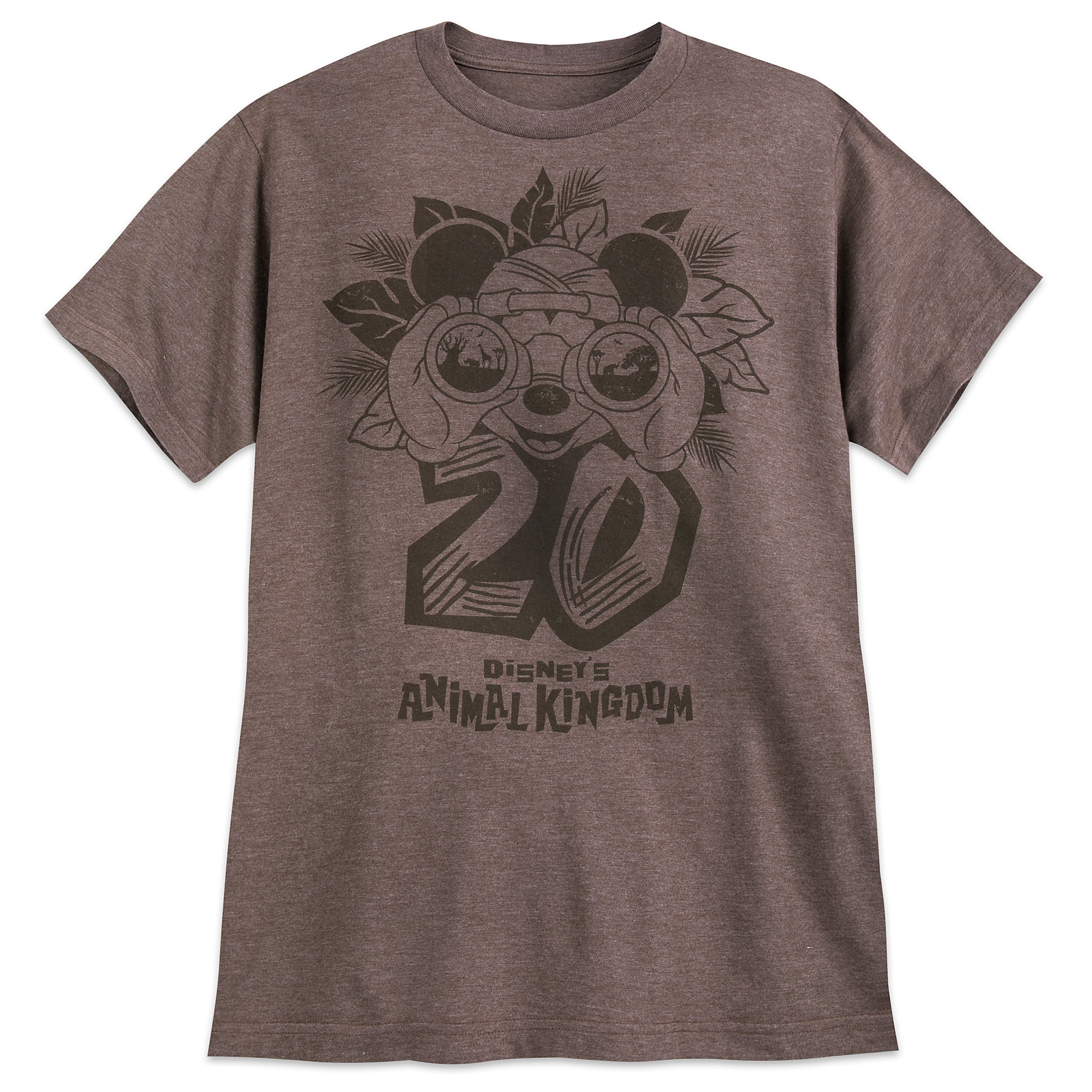 Mickey Mouse Disney's Animal Kingdom 20th Anniversary T-Shirt for Adults