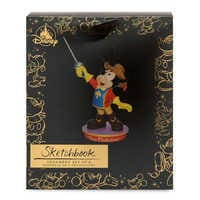 Image of Mickey Mouse Through the Years Sketchbook Ornament Set - The Three Musketeers - November - Limited Release # 3