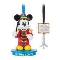 Image of Mickey Mouse Through the Years Sketchbook Ornament Set - The Band Concert - March - Limited Release # 1