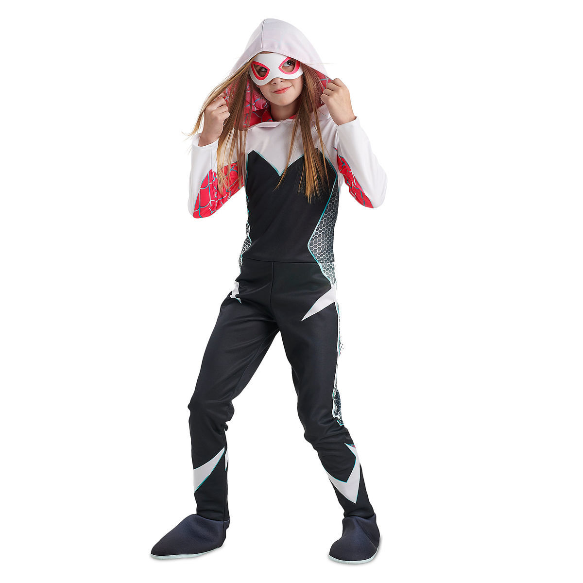 product image of ghost spider deluxe costume for kids by rubies 1