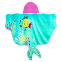 Image of The Little Mermaid Hooded Swim Towel for Baby # 2