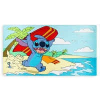 Image of Stitch Beach Towel # 1