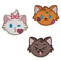 Image of Aristocats Emoji Adhesive Patches Set # 1