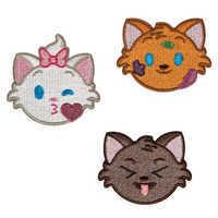 Image of Aristocats Emoji Adhesive Patches Set # 1
