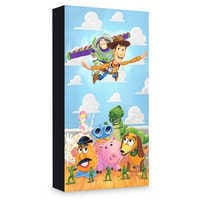 Image of ''The Original Toys'' Giclee on Canvas by Tim Rogerson - Limited Edition # 1