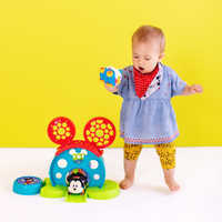 Image of Mickey Mouse Bounce Around Playset for Baby by Bright Starts # 4