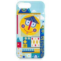 Image of Disney it's a small world Clock iPhone 8 Plus Case # 1