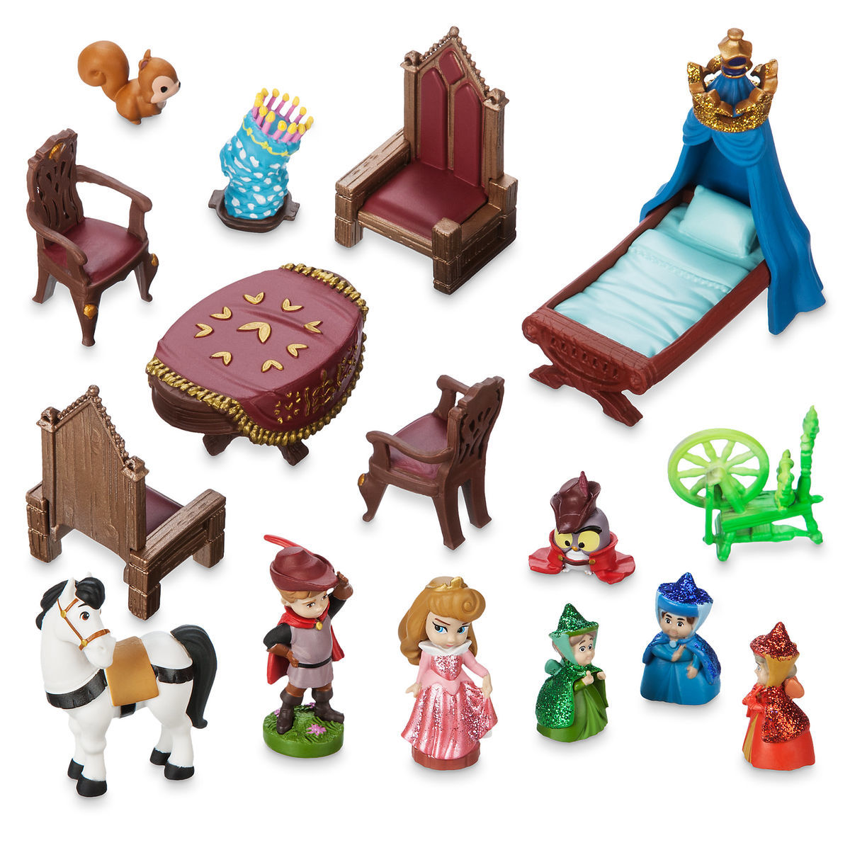 9d17eb8a7b3 Product Image of Disney Animators  Collection Deluxe Sleeping Beauty Castle Play  Set   6