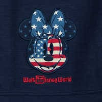 Image of Minnie Mouse Americana Fashion T-Shirt for Girls - Walt Disney World # 3