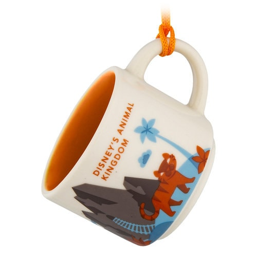 Disney's Animal Kingdom Starbucks YOU ARE HERE Mug Ornament