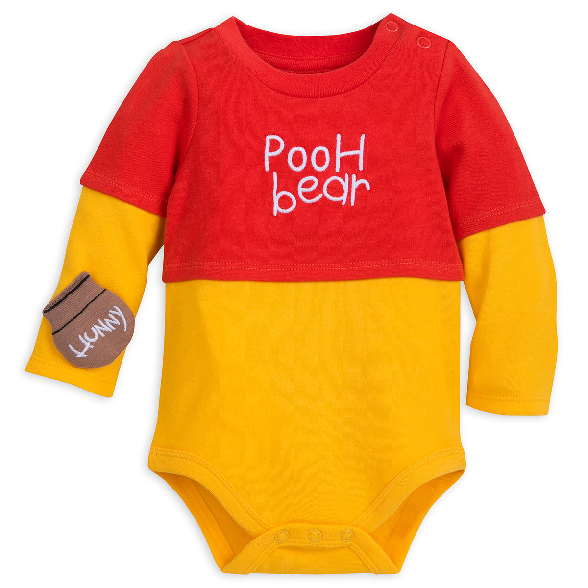 27e09c34d383 Product Image of Winnie the Pooh Costume Bodysuit Set for Baby   3
