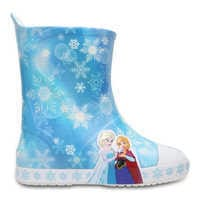 Image of Anna and Elsa Crocs™ Rain Boots for Girls # 3