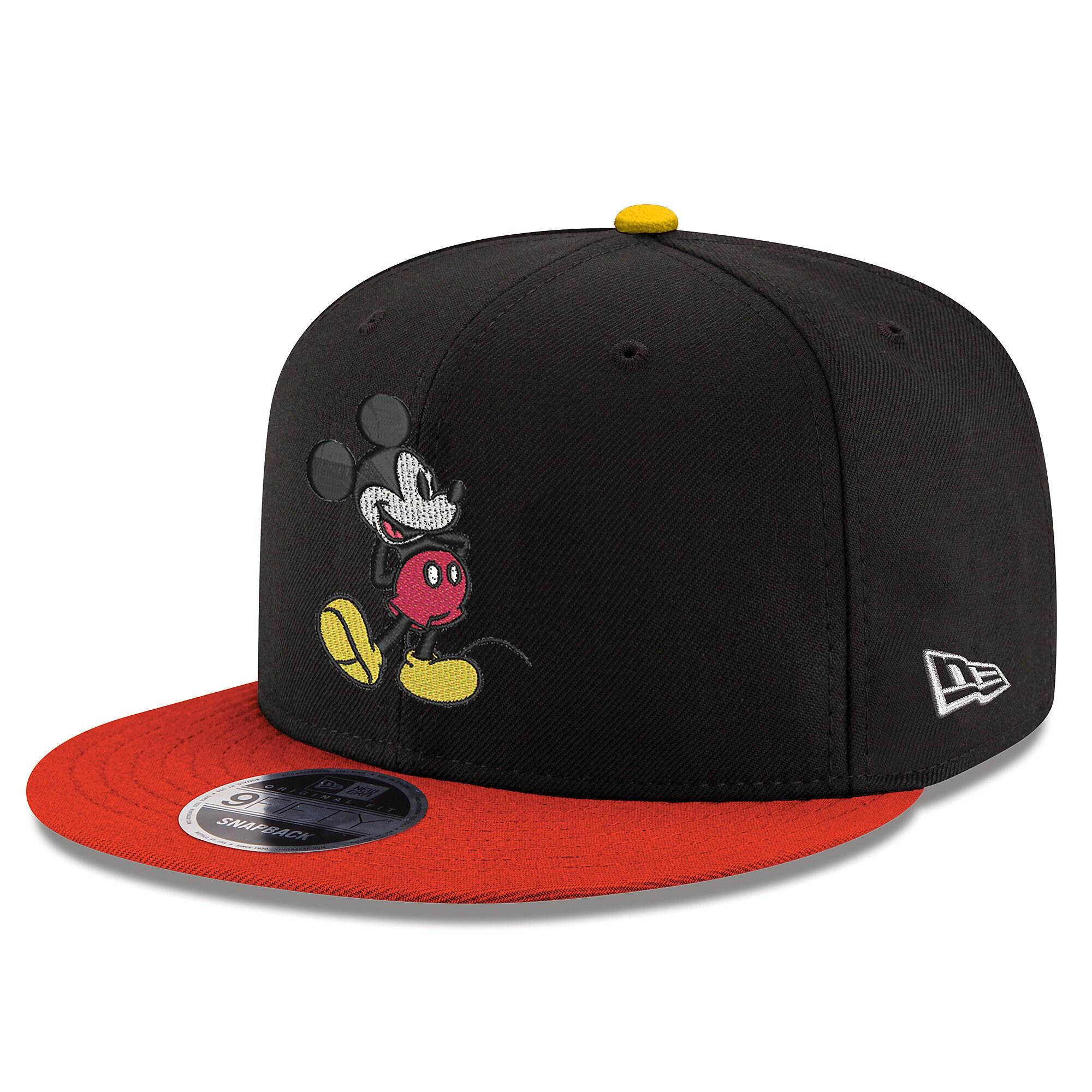 63b765f901e Mickey Mouse Signature Snapback Hat - New Era - Adults