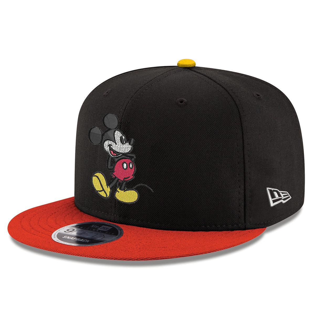 detailed look 7492e 94862 Product Image of Mickey Mouse Signature Snapback Hat - New Era - Adults   1