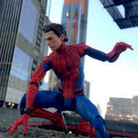 Image of Spider-Man Action Figure - Marvel Select - Spider-Man: Homecoming - 7'' # 9
