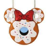Image of Minnie Mouse Donut Crossbody Bag by Danielle Nicole # 1