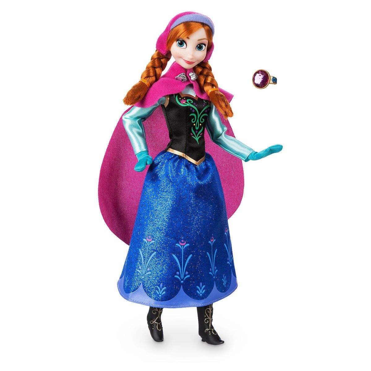 Product Image of Anna Classic Doll with Ring - Frozen # 1