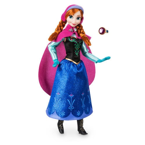 Anna Classic Doll with Ring - Frozen