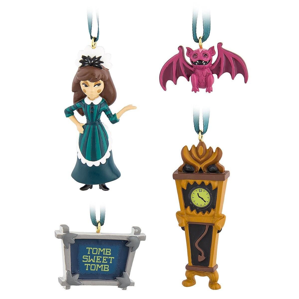 The Haunted Mansion Mini Ornament Set